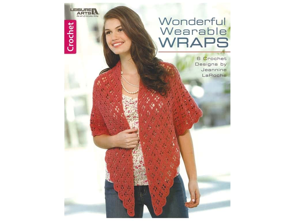 Leisure Arts Wonderful Wearable Wraps Book