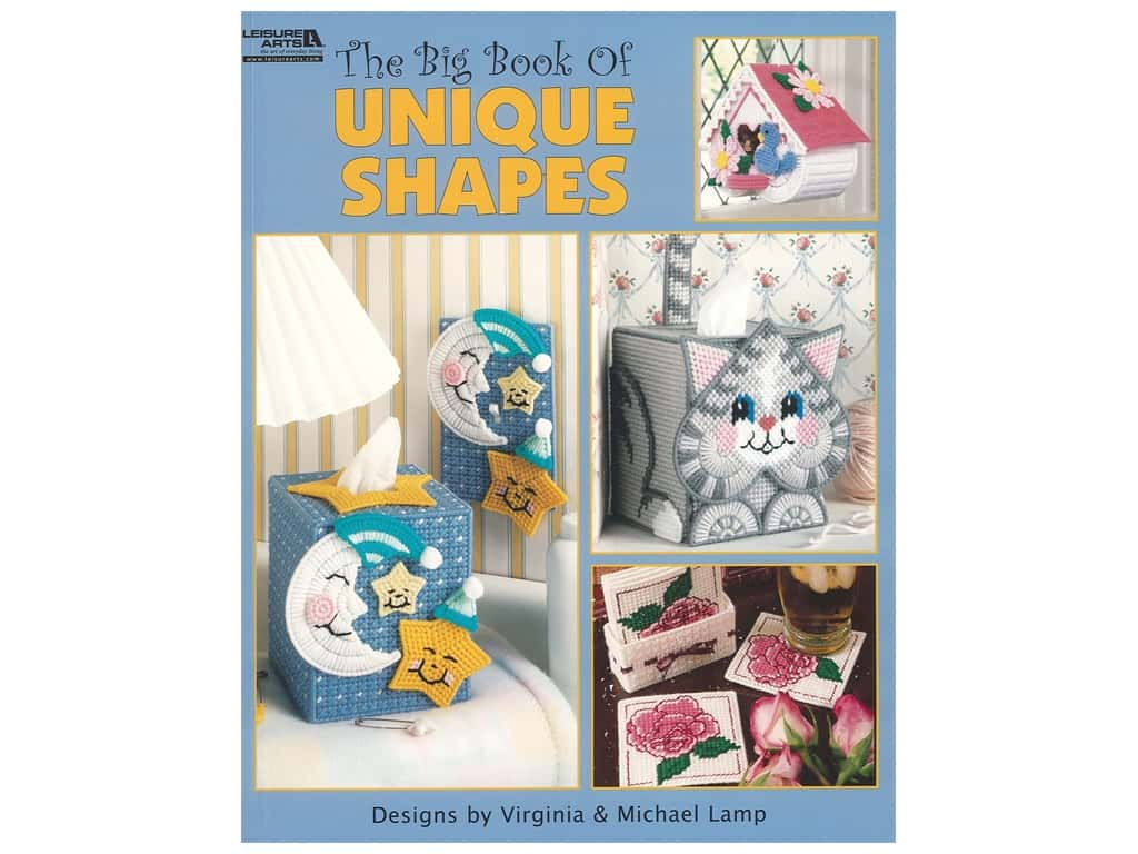 Leisure Arts The Big Book of Unique Shapes Book