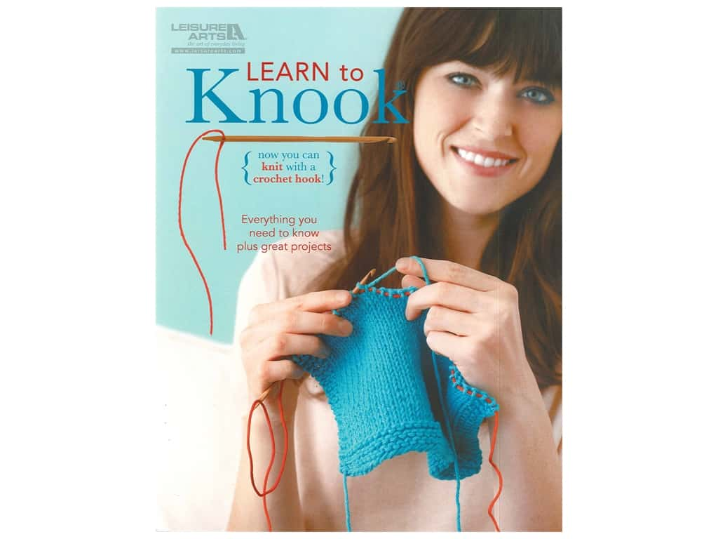Leisure Arts Learn To Knook Knit Book