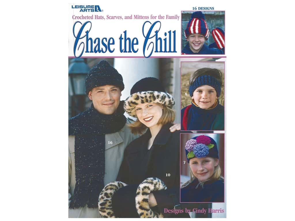 Chase the Chill Crochet Book