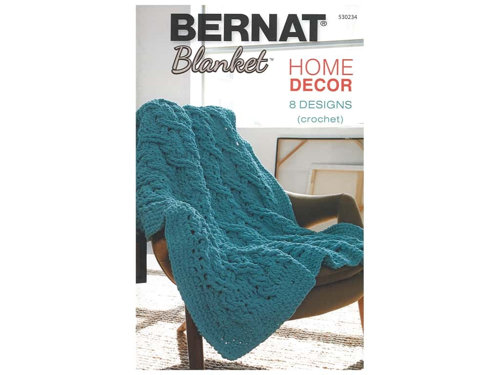 Bernat Blanket Home Decor Crochet Book