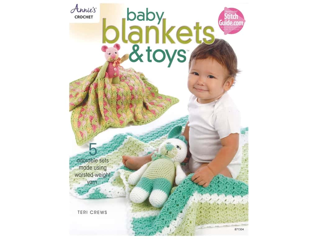 Annie's Crochet Baby Blankets & Toys Book