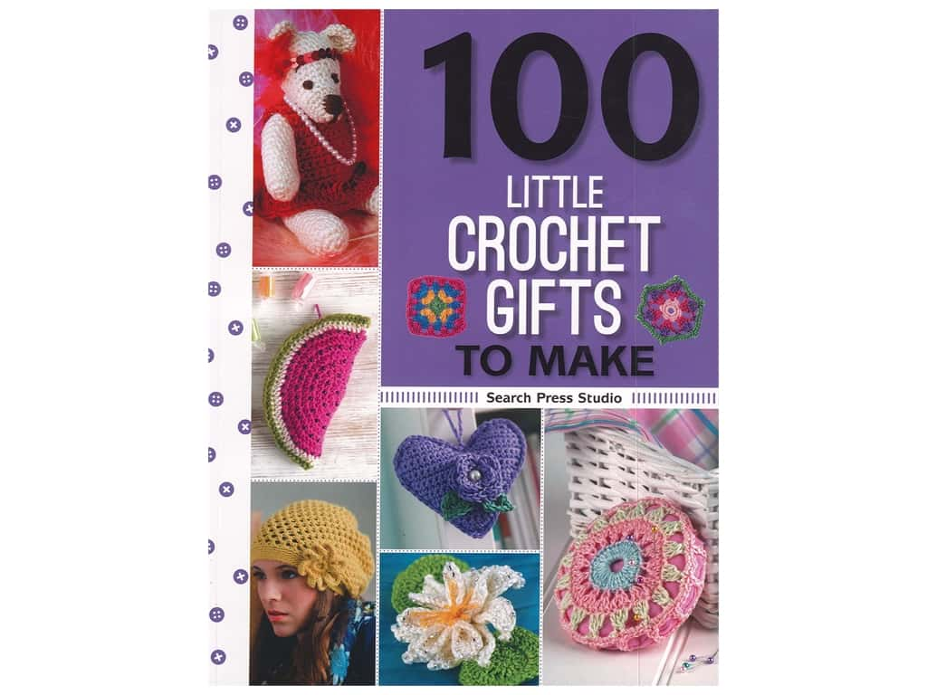 Search Press 100 Little Crochet Gifts to Make Book