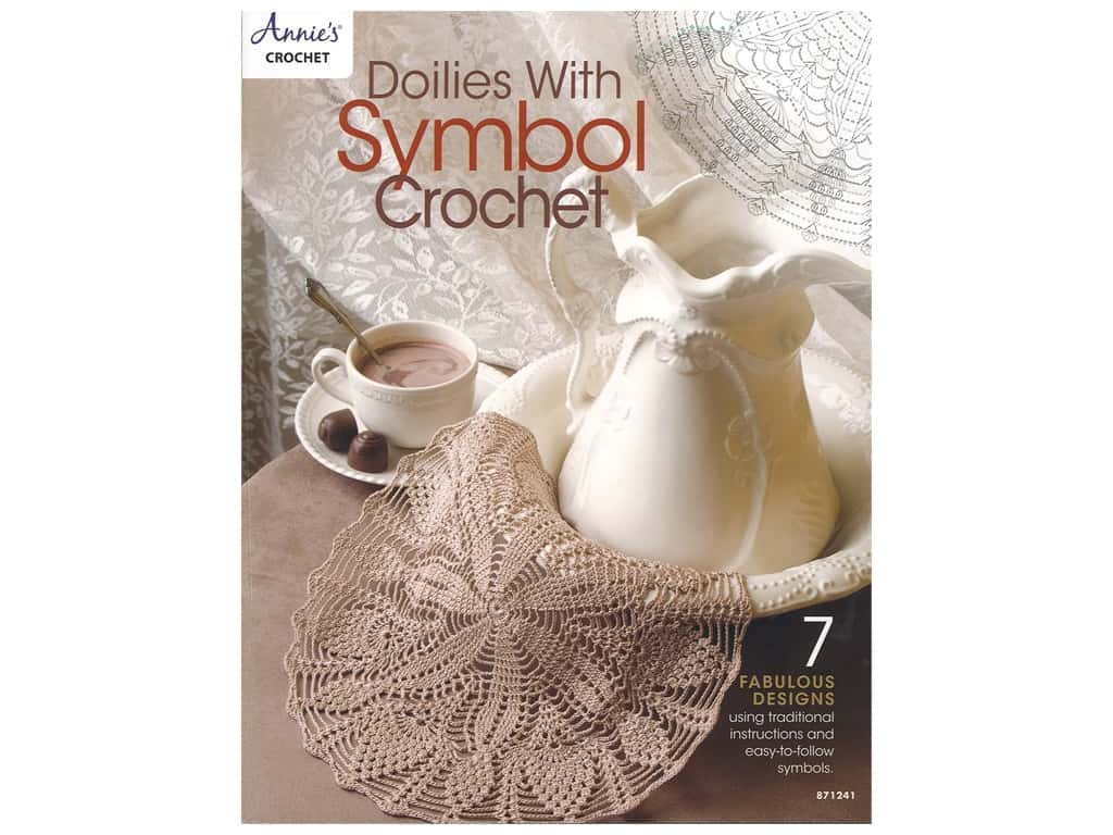 Doilies With Symbol Crochet Book