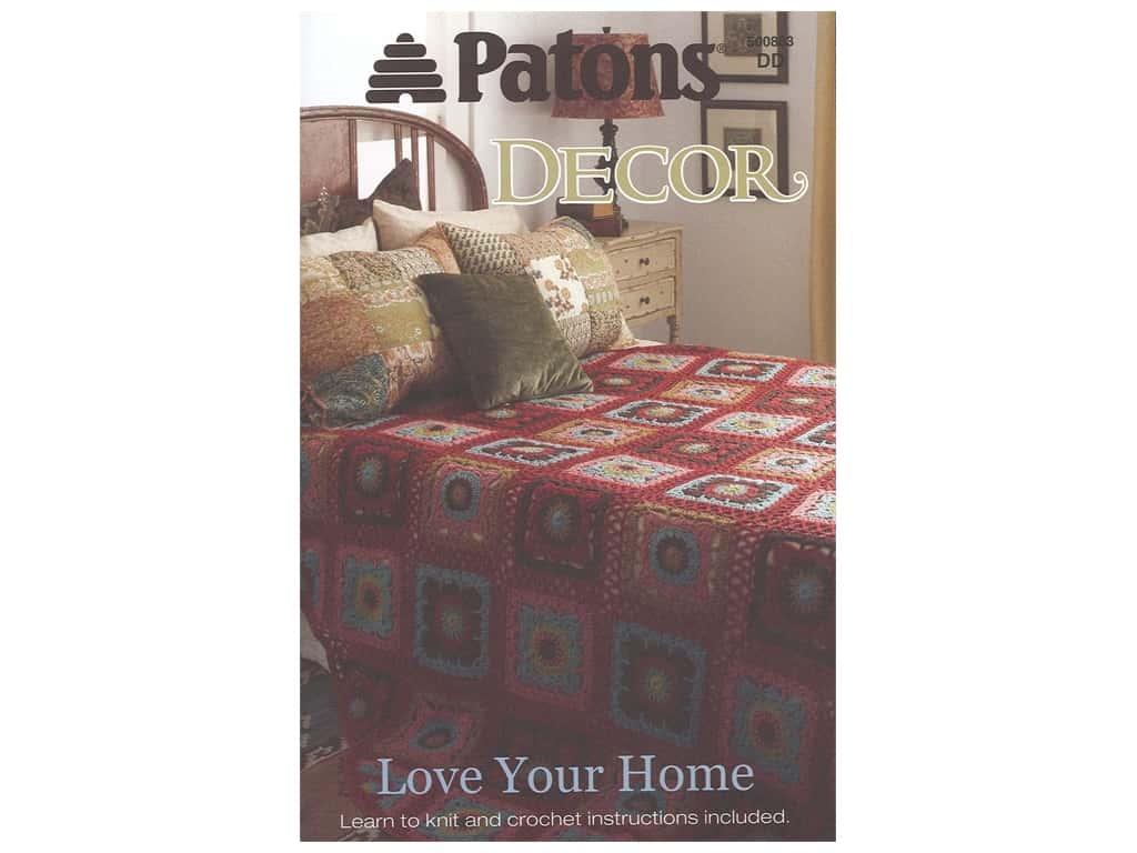 Patrons Decor Love Your Home Knit & Crochet Book