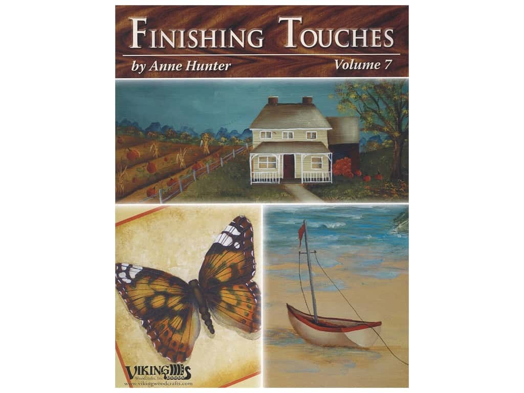 Viking Woodcrafts Finishing Touches Volume 7 Book