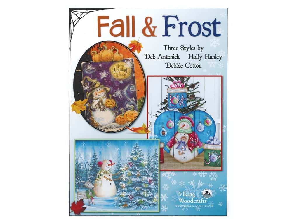 Viking Woodcrafts Fall and Frost Book