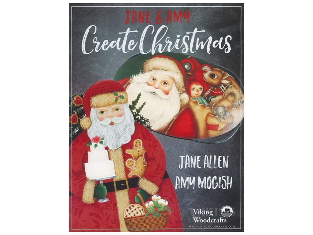 Viking Woodcrafts Jane & Amy Create Christmas Book