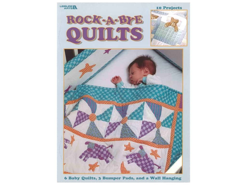 Leisure Arts Rock-A-Bye Quilts Book
