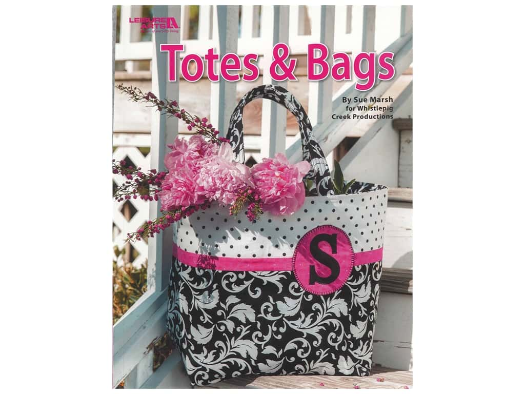 Leisure Arts Totes & Bags Book