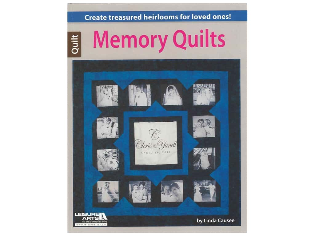 Leisure Arts Memory Quilts Book