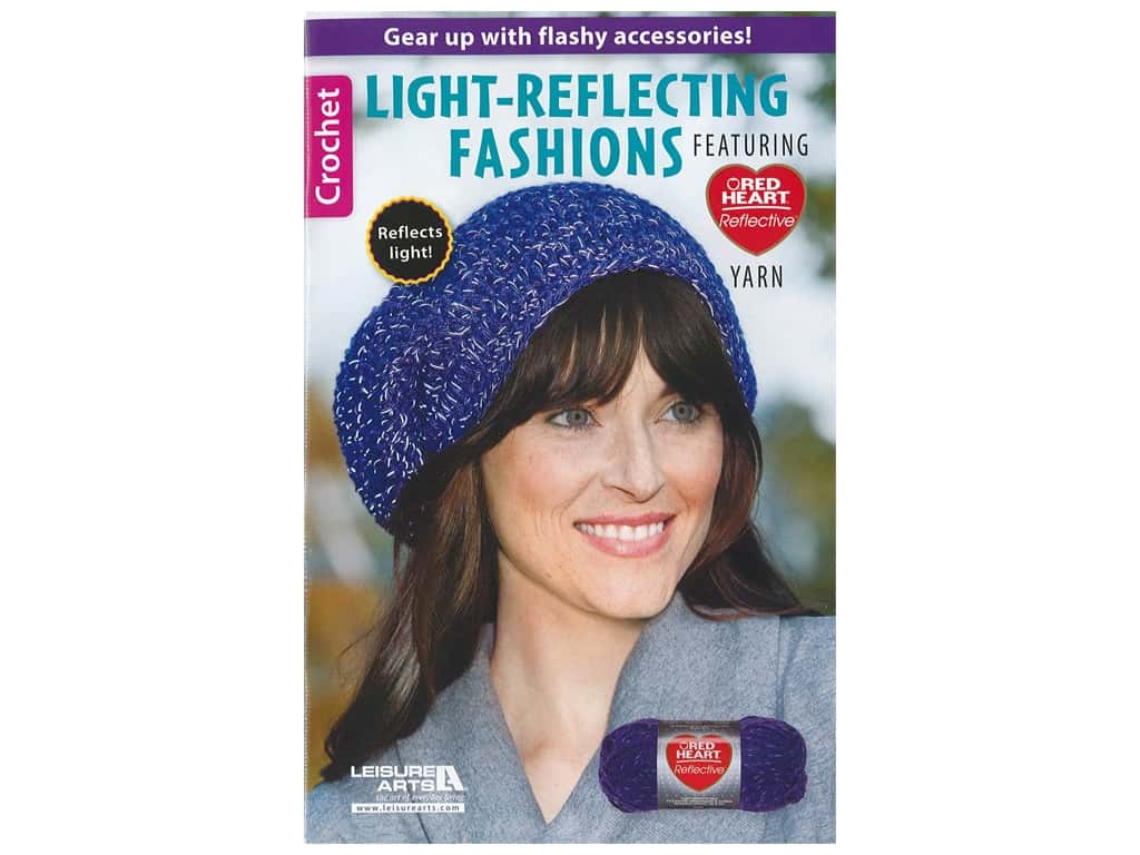 Leisure Arts Crochet Light Reflecting Fashions Book
