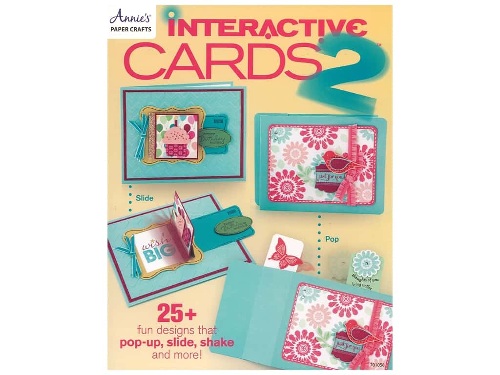 Annies's Interactive Cards 2 Book