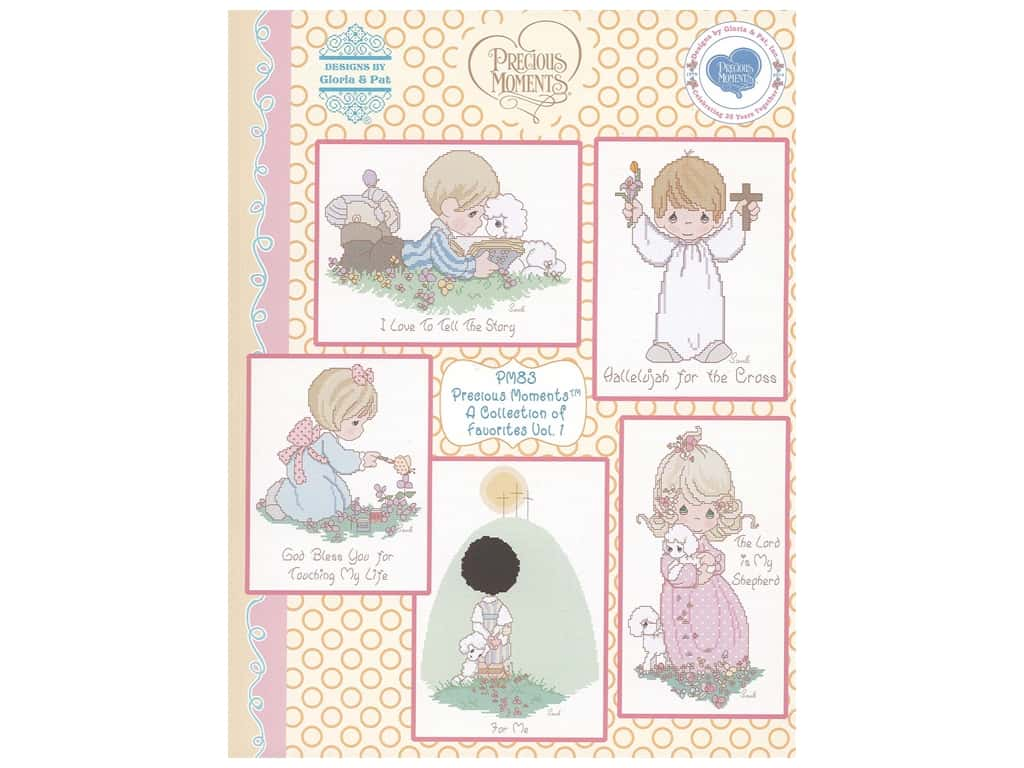 Precious Moments A Collection of Favorites Volume 1 Cross Stitch Book