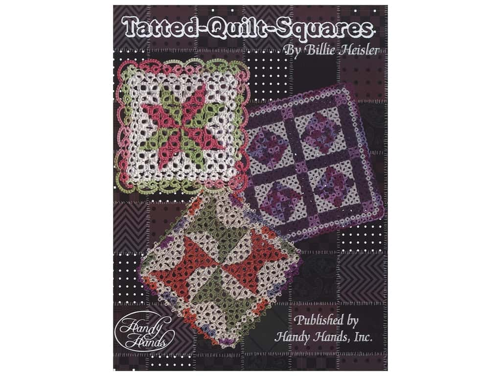 Handy Hands Tatted Quilt Squares Book
