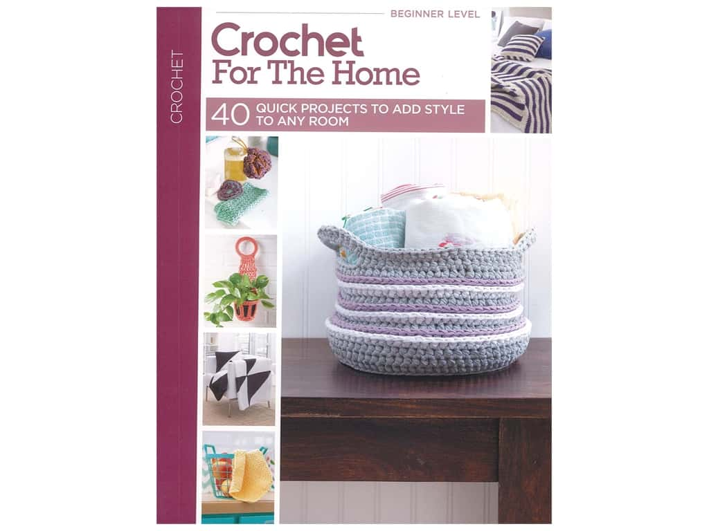 Leisure Arts Crochet For The Home Book
