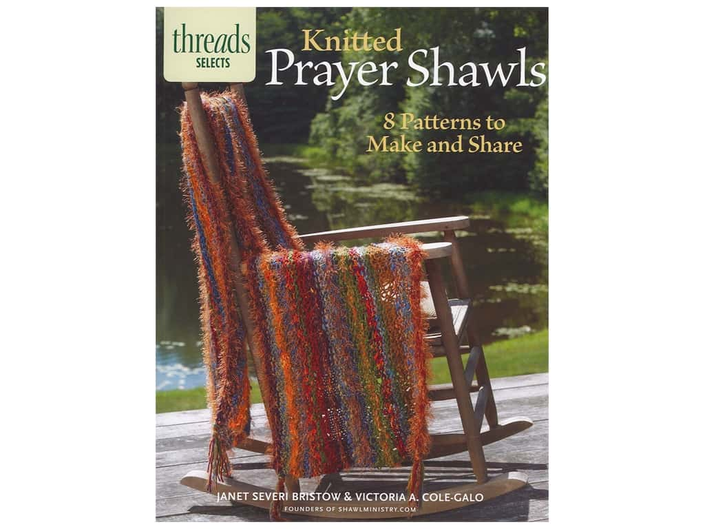 Taunton Press Thread Selects Knitted Prayer Shawls Book