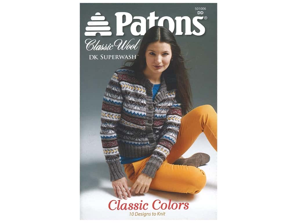 Patons Classic Colors Book