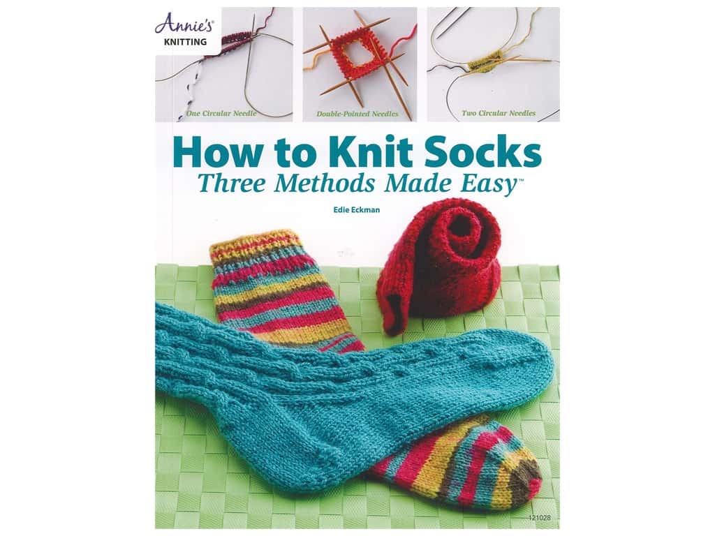 How to Knit Socks: 3 Methods Made Easy Book