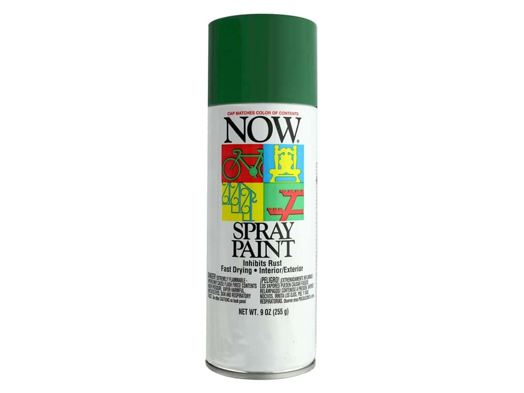 Krylon Now Spray Paint 9 oz. Hunter Green