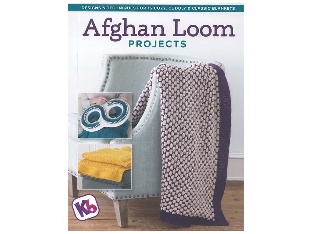 Spring House Press Afghan Loom Projects Book
