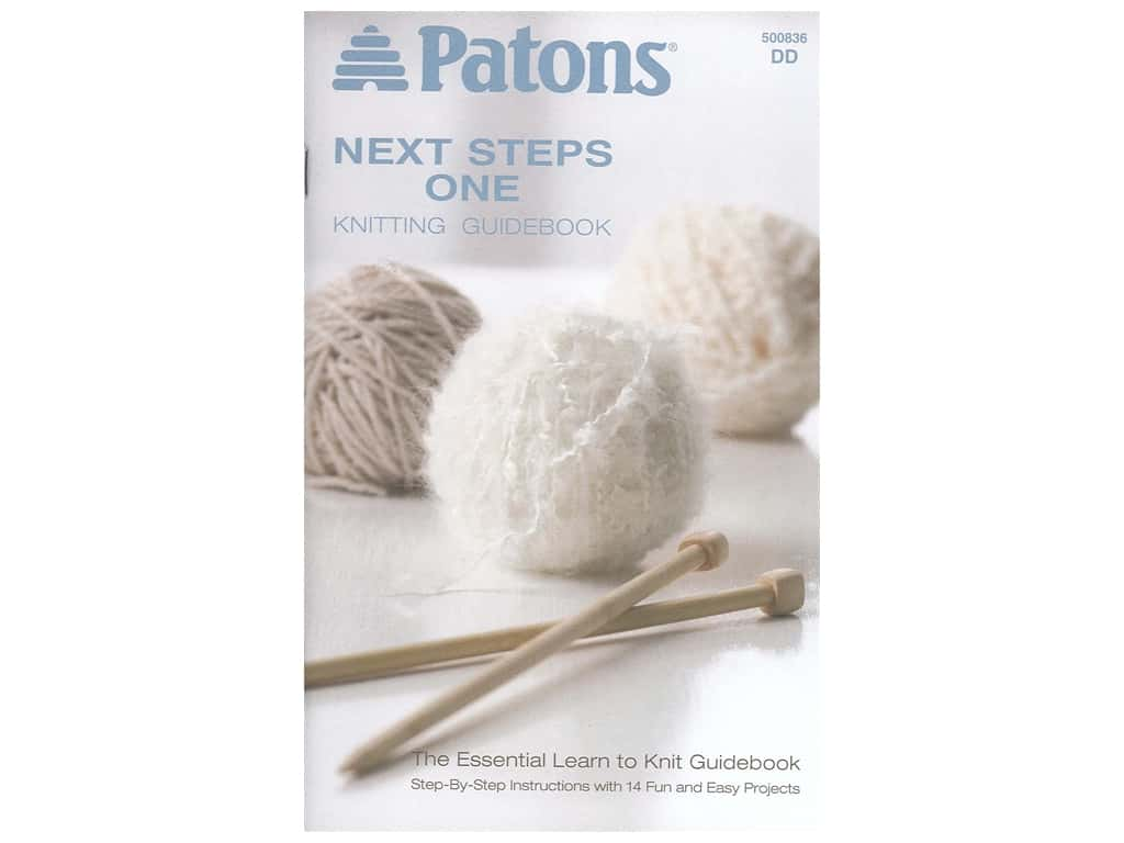 Patons Next Steps One Knitting Guidebook Book