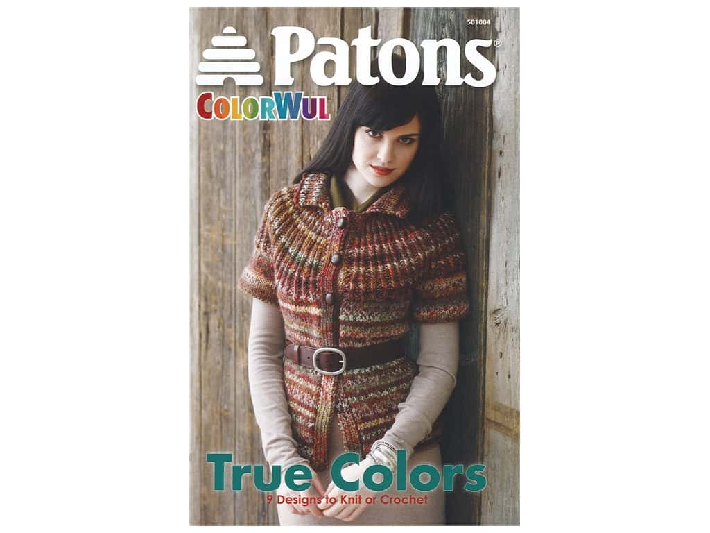 Patons Colorwul True Colors Book