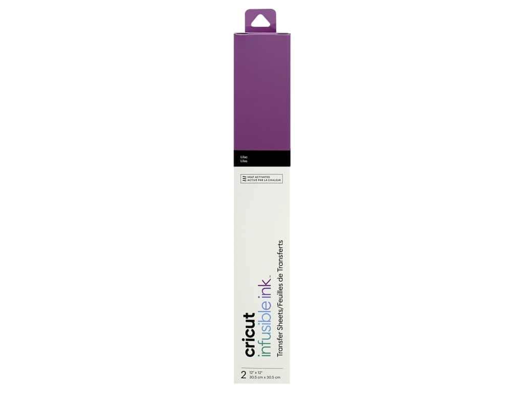 Cricut Infusible Ink Transfer 12 in. x 12 in. Lilac 2 pc