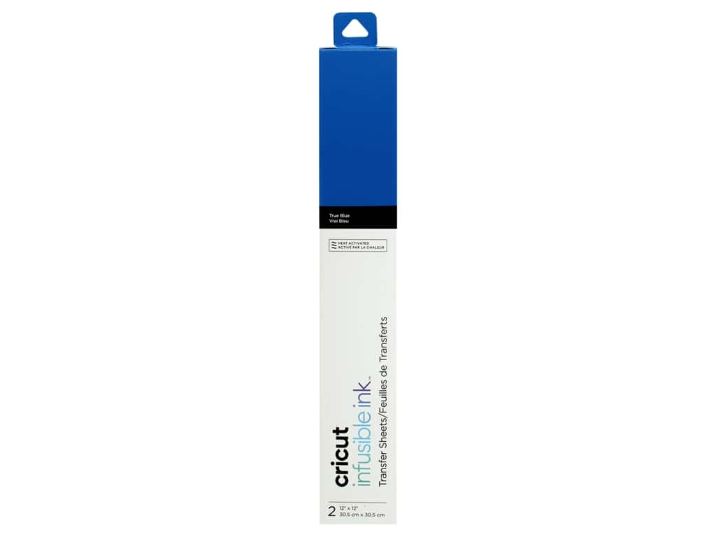 Cricut Infusible Ink Transfer 12 in. x 12 in. True Blue 2 pc