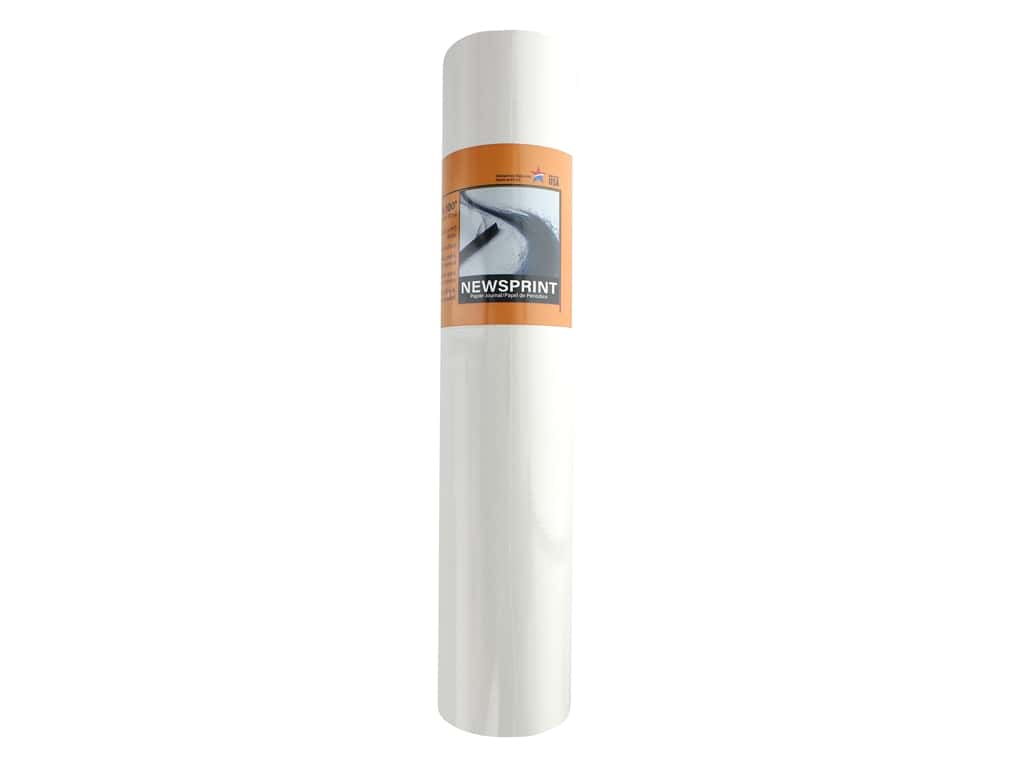 Pro Art Newsprint Paper Smooth 32 lb 15 in. x 100 ft Roll
