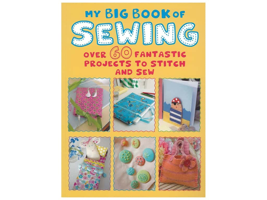 Cico My Big Book Of Sewing Book