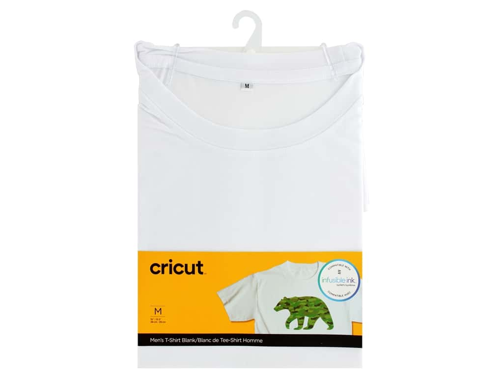 Cricut Infusible Ink Blank T Shirt Round Neck Men's Medium