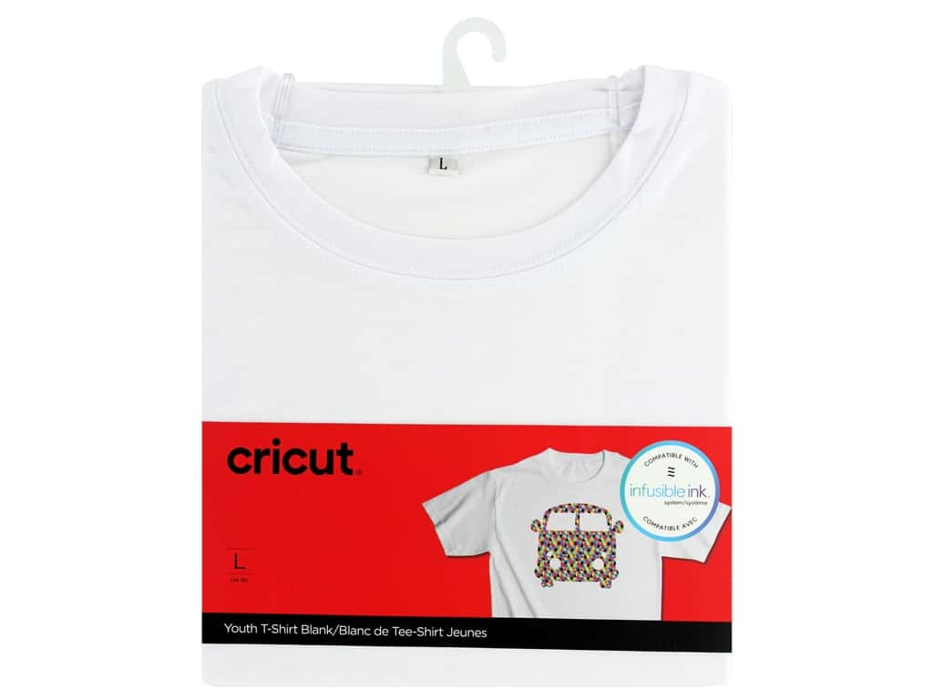 Cricut Infusible Ink Blank T Shirt Round Neck Youth Large