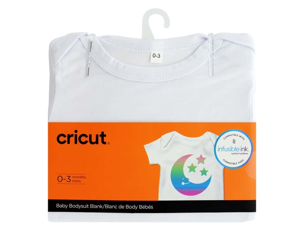 Cricut Infusible Ink Blank Body Suit Baby 0-3 Months