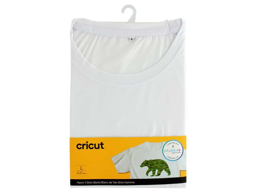 Cricut Infusible Ink Blank T Shirt Round Neck Men's Large