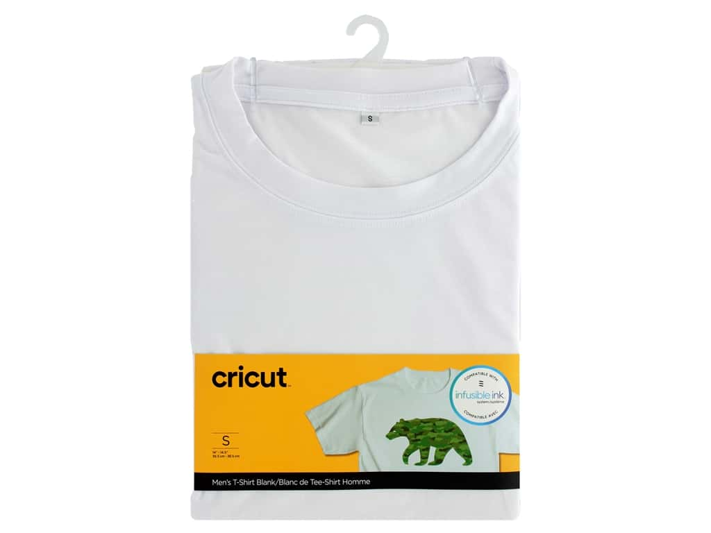 Cricut Infusible Ink Blank T Shirt Round Neck Men's Small