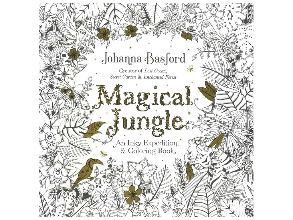 Penguin Books Magical Jungle Coloring Book