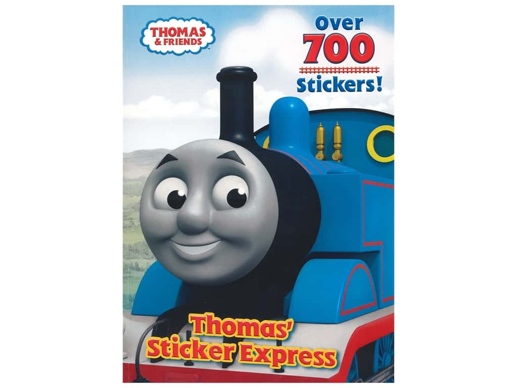 Thomas & Friend Thomas' Sticker Express Coloring Book