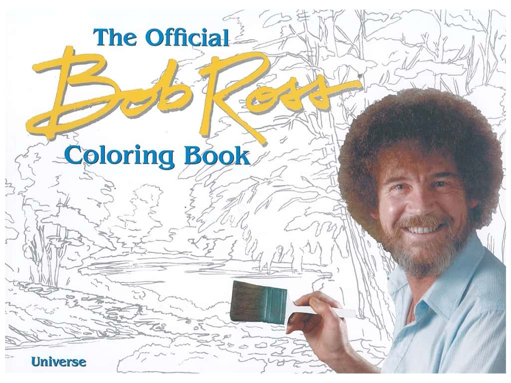 Universe The Official Bob Ross Coloring Book