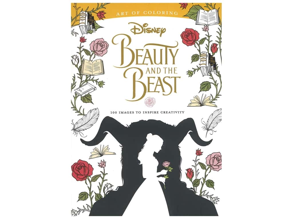 Disney Art of Coloring Beauty And The Beast Coloring Book