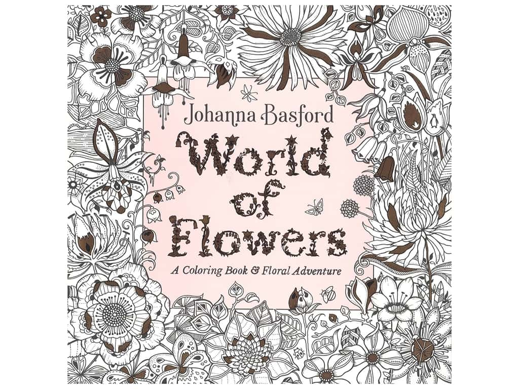Penguin Books World of Flowers Coloring Book