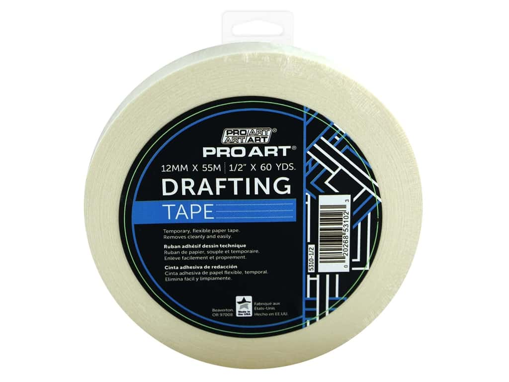 Pro Art Tape Drafting .5 in. x 60 yd