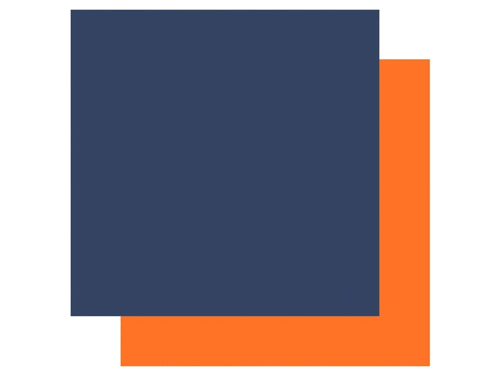 Echo Park Its Your Birthday Boy Collection Paper 12 in. x 12 in. Navy/Orange (25 pieces)