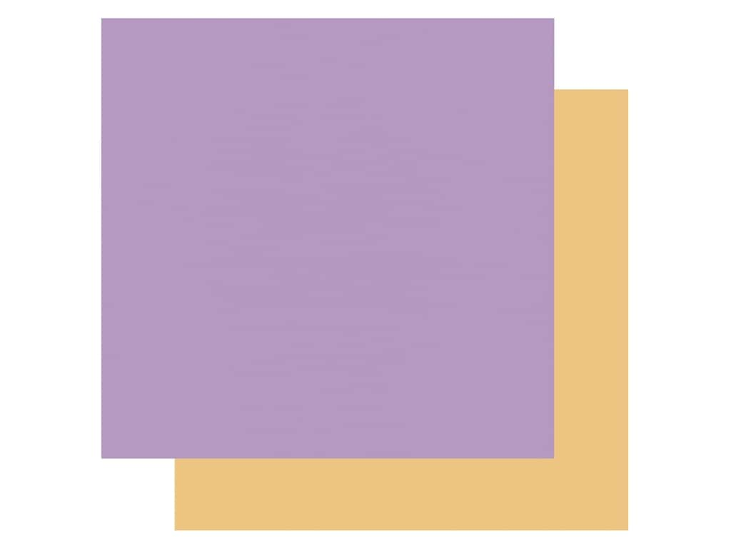 Echo Park Its Your Birthday Girl Collection Paper 12 in. x 12 in. Purple/Yellow (25 pieces)