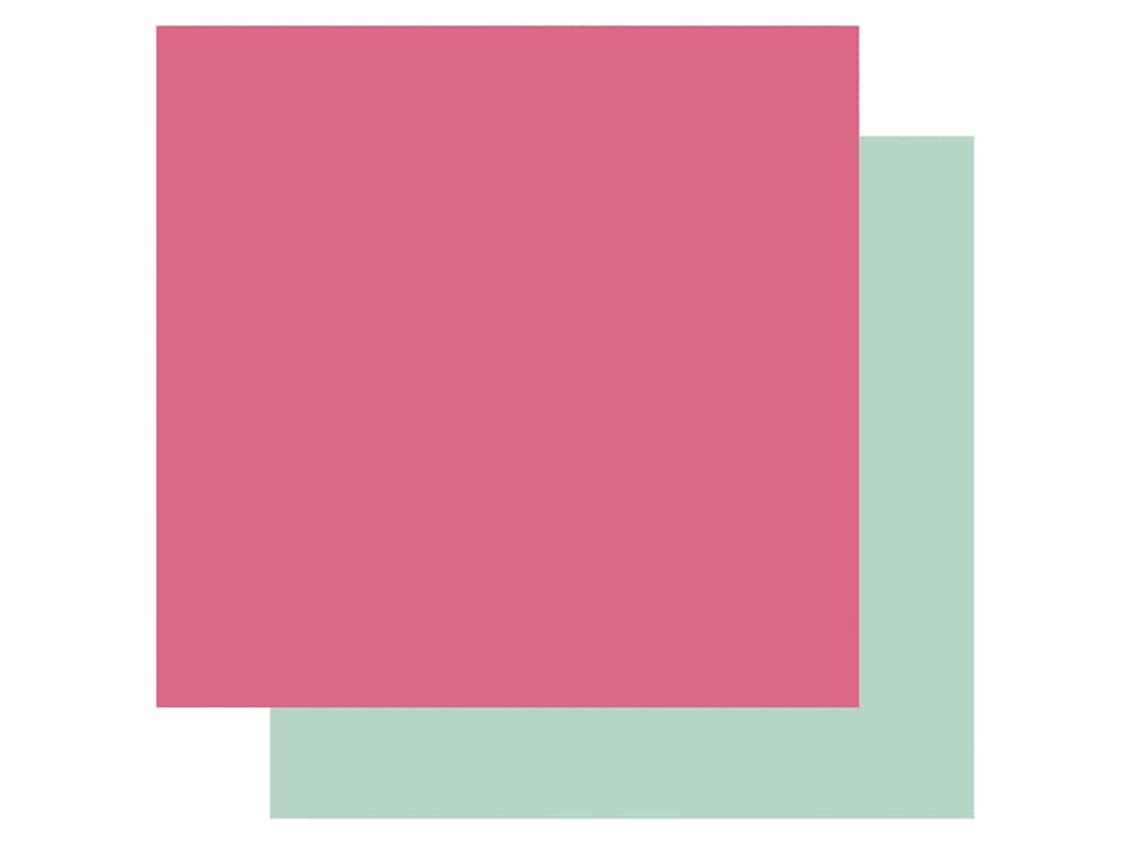 Echo Park Its Your Birthday Girl Collection Paper 12 in. x 12 in. Dark Pink/Mint (25 pieces)