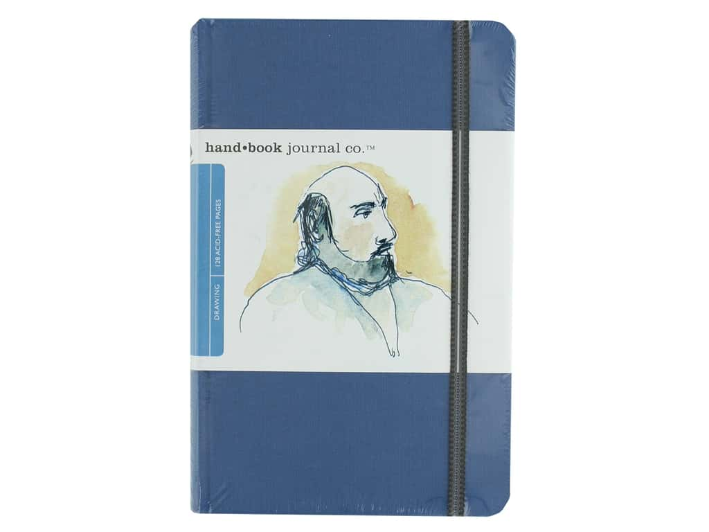 Speedball Hand Book Portrait Journal 5.5 in. x 8.25 in. Ultramarine Blue
