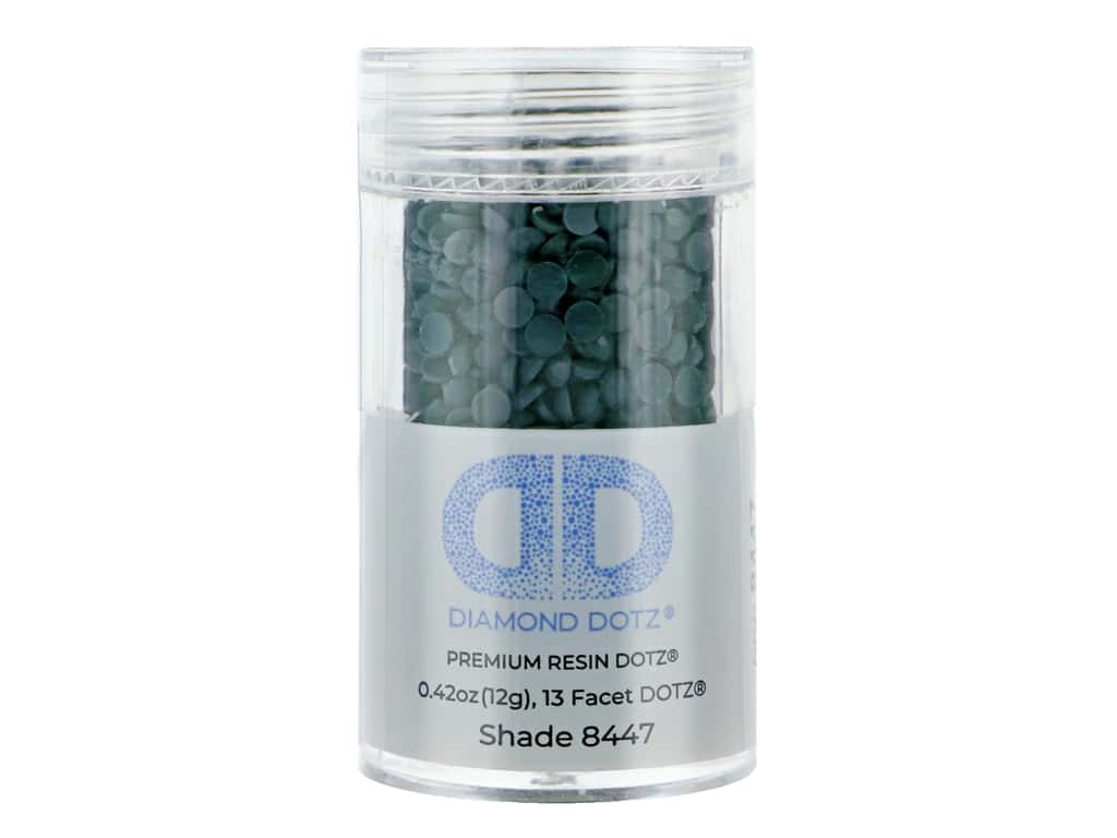 Diamond Dotz Freestyle Gems 0.43 oz. #8447 Blue Gum (4 jars)