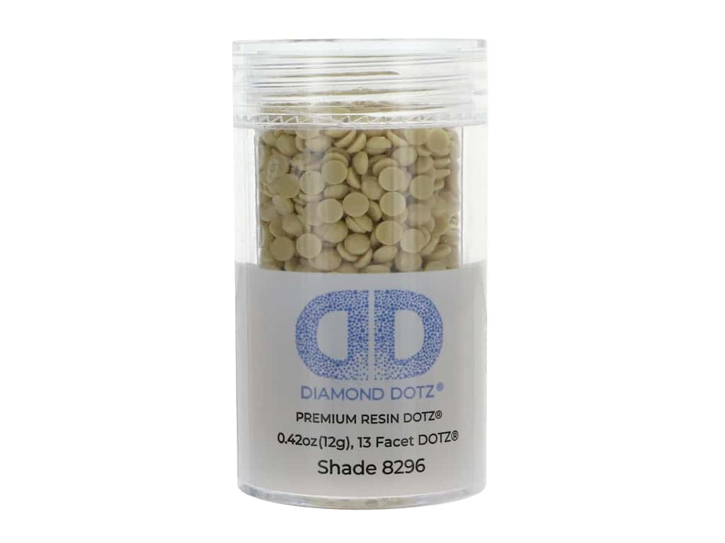 Diamond Dotz Freestyle Gems 2.8 mm 12 g Linen (4 jars)