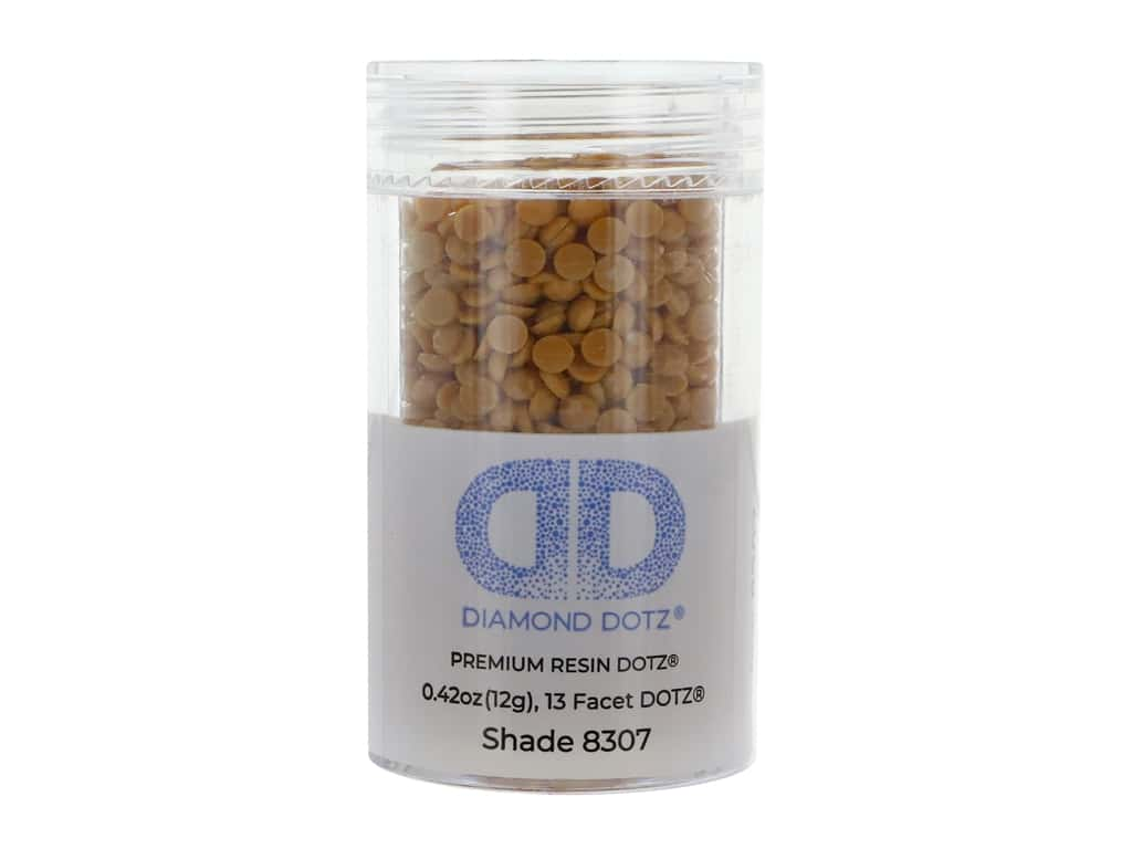 Diamond Dotz Freestyle Gems 0.43 oz. #8307 Deep Cadmium
