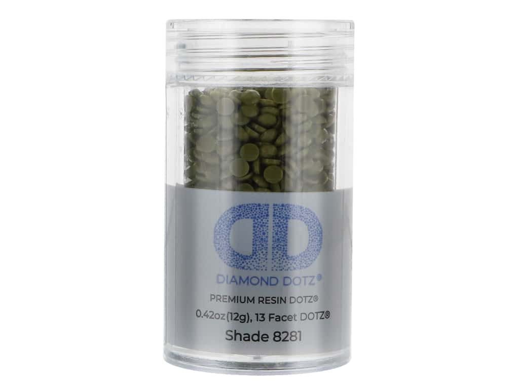 Diamond Dotz Freestyle Gems 0.43 oz. #8281 Dark Eucalyptus (4 jars)